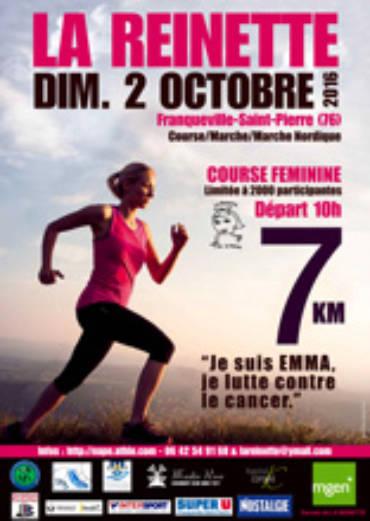 LA REINETTE, L'ÉVÉNEMENT FÉMININ N°1 DE L'AGGLOMÉRATION ROUENNAISE REVIENT LE DIMANCHE 2 OCTOBRE 2016