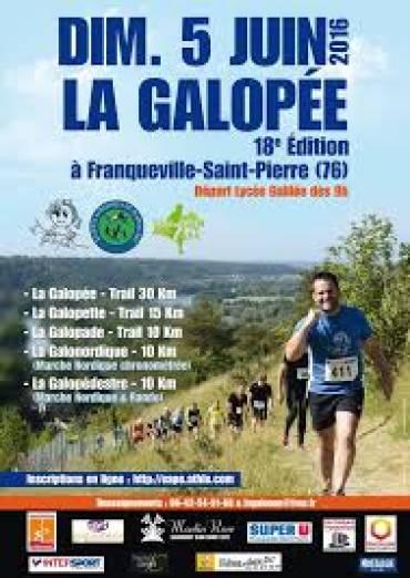 18E ÉDITION DE LA GALOPÉE
