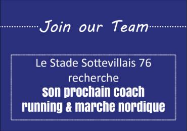 Le Stade Sottevillais 76 recrute un coach Running & Marche nordique