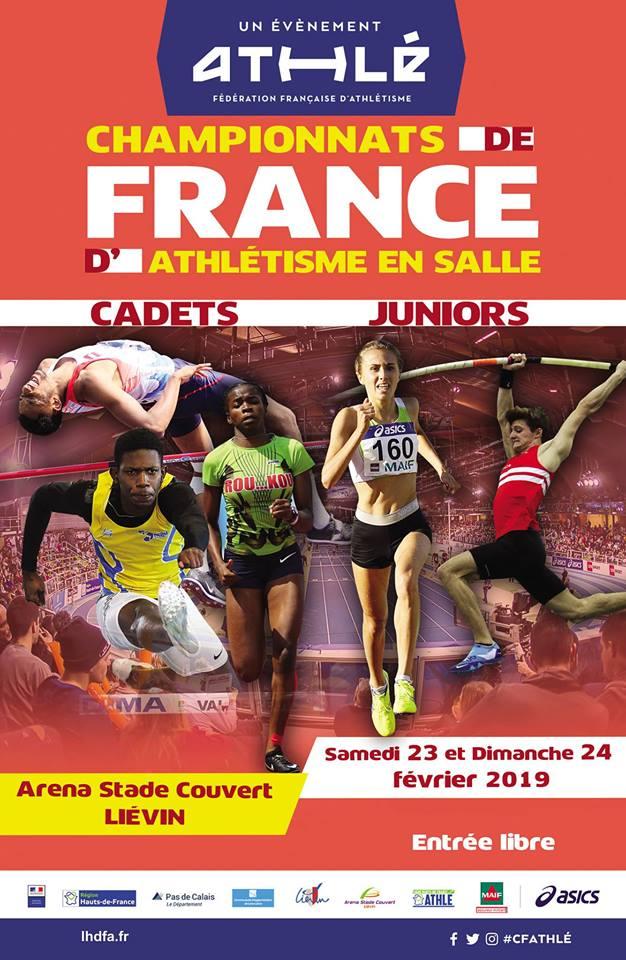 Sept sottevillais présents aux Championnats de France Cadets-Juniors