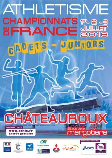 CHAMPIONNATS DE FRANCE CADETS – JUNIORS