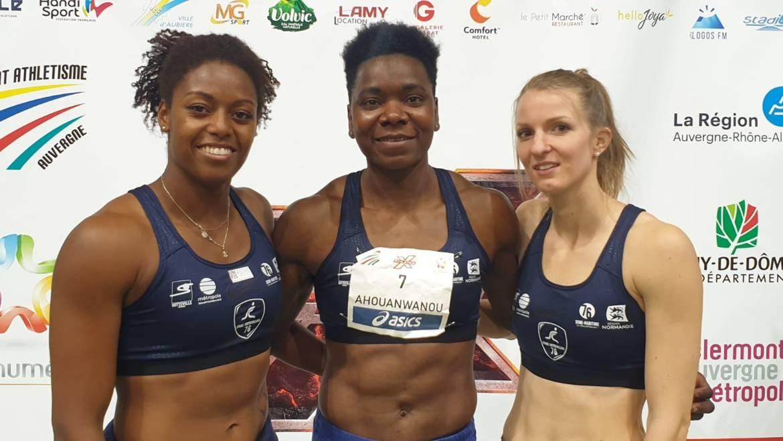 3 records du Bénin pour Odile !