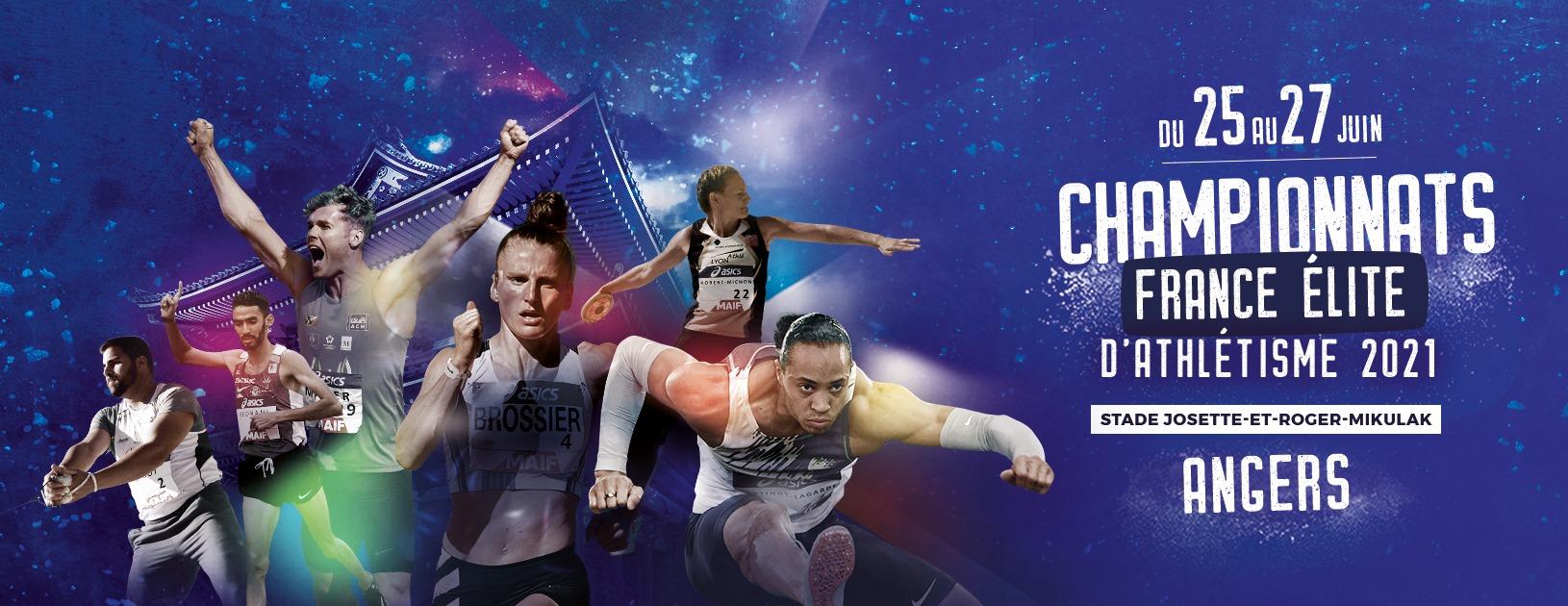 Championnats de France Elite à Angers