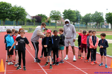 Quand les jeunes rencontrent nos athlètes Élite