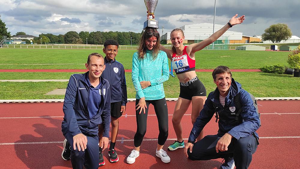Marche athlétique: Nos jeunes s'imposent au Challenge National des Ligues à la Marche avec la team Normandie