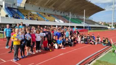 Kinder Day: Un samedi de fête pour l'école d'athlé